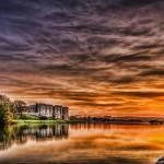 """""""Carew Castle Sunset"""" by StevePurnell"""