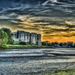 """Carew Castle Sunset"" by StevePurnell"
