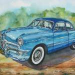 """1949 Ford Coupe"" by BorsosAnnaRuzsan"