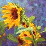 """Sunflowers on Hot Summer Day"" by KimStenbergFineArt"