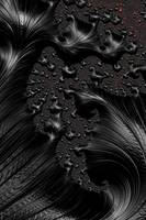 Black on Black - A Fractal Abstract