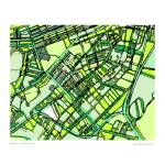 """South End Green"" by carlandcartography"