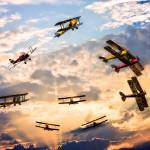 """""""Tiger Moth Ballet"""" by ChrisLord"""