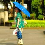 """""""Umbrella Lady"""" by EYEPOP"""