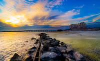 Emerald Grande Sunset-Destin Harbor-East Pass Art
