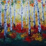 """Aspen forest"" by Jandy"