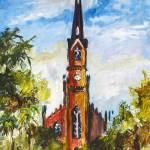 """""""Charleston South Carolina Lutheran Church St Matth"""" by GinetteCallaway"""