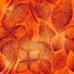 """Fire Fogged Leaves"" by MaryDolan"