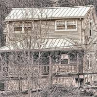 Old House Sketch Art Prints & Posters by D. Nadine Schwartz