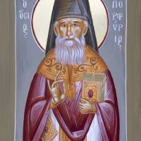 St Porphyrios Art Prints & Posters by Julia Bridget Hayes