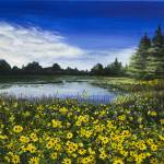 """""""Summer Susans"""" by marypalmer"""
