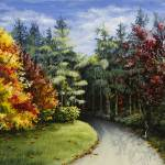 """""""Autumn in the Arboretum"""" by marypalmer"""