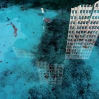 Reflected Buildings Art Prints & Posters by david van amburg