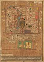 Vintage Map of Beijing China (1914)