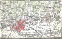 Vintage Map of Arnhem and Surrounding Areas (1905)