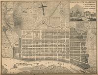 Vintage Map of Savannah Georgia (1818)