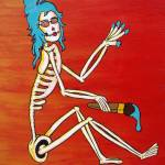 """Skinny Blue"" by splinterhed"