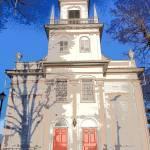 """Church and Steeple in Interlaken, NY (Pop Art)"" by FingerLakesPhotos"