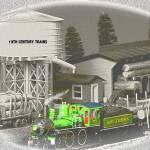 """""""Early 20th Century Railroad Scene"""" by frankreggio"""