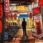 """Noisy Tokyo Street"" by zurika"