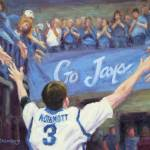 """Doug McDermott Go Jays!"" by KimStenbergFineArt"