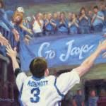 """Doug McDermott Go Jays!"" by KimStenbergFineArt"