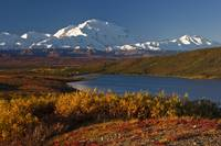 Scenic view of Mt. McKinley and Wonder Lake Denali