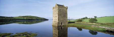 Rockfleet Castle On Clew Bay, County Mayo, Ireland