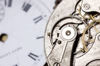Close-Up Of Timepiece