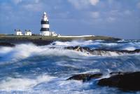 Lighthouse On A Stormy Coast, Hook Head, County We