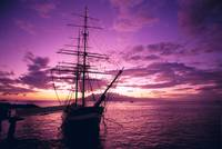 Hawaii, Maui, Lahaina Harbor, Carthaginian Ship At