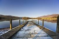 Dock In A Lake, Cumbria, England