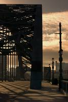 Silhouette Of Bridge, Newcastle Upon Tyne, Tyne An