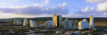 Standing Stones, Blacksod Point, County Mayo, Irel