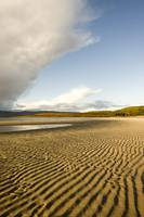 Rippled Sand On A Beach, Argyll And Bute, Scotland