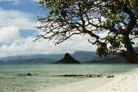 Hawaii, Oahu, Windward, Chinaman's Hat, Calm Wate
