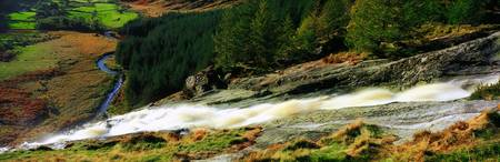 Glenmacnass Waterfall, County Wicklow, Ireland