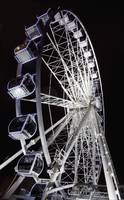 A Ferris Wheel Illuminated At Night, Middlesbrough