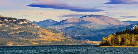 Lake Laberge Near Whitehorse, Yukon