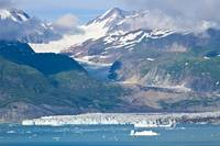 Alsek Glacier empties into Alsek Lake at Glacier B
