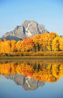 Wyoming, Grand Teton National Park, Oxbow Bend On