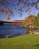 Marchand Covered Bridge, Outaouais Region, Quebec,