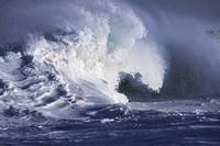 Hawaii, Big Powerful Wave Break