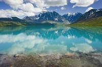 Turquoise Lake In Lake Clark National Park, Southc