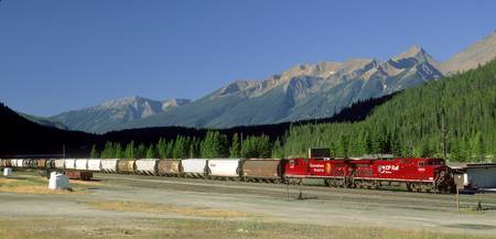 Canadian Pacific Railway, Field, British Columbia,