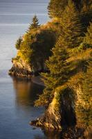View of Chiniak Bay, Kodiak Island, Southwest Alas