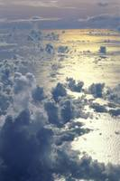 View From Above, Clouds Over Ocean