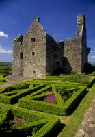 Garden In Front Of Tully Castle, County Fermanagh,
