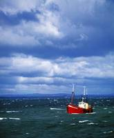 Trawler Going To Harbour, Skerries, County Dublin,