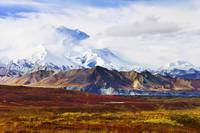 Mount Mckinley, Denali National Park, Alaska, USA
